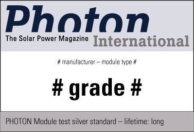 Sample test seal PHOTON Silver Standard